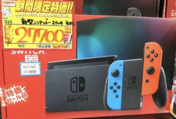新型Switch本体 特価中✨